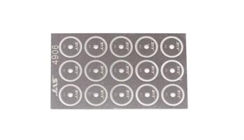 Диск для ревитера  d 8,5 мм, шаг 0,6 мм, 15 шт.