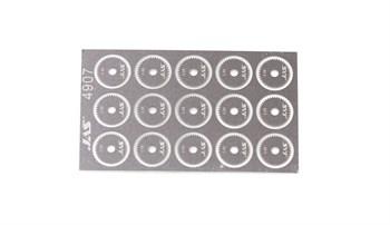 Диск для ревитера  d 8,5 мм, шаг 0,65 мм, 15 шт.