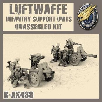 LUFTWAFFE INFANTRY SUPPORT UNITS (не собран не окрашен)