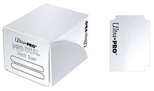 Пластиковая коробочка Ultra-Pro «Pro Dual Small - White»
