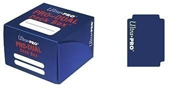 Пластиковая коробочка Ultra-Pro «Pro Dual Standard - Blue»