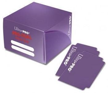 Пластиковая коробочка Ultra-Pro «Pro Dual Standard - Purple»