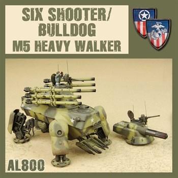 SIX SHOOTER/BULLDOG M5 HEAVY WALKER (собранная модель)