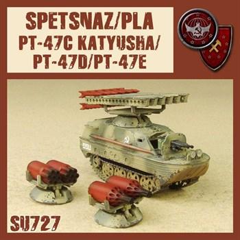 PT-47C/D/E KATYUSHA (не собран не окрашен) MODEL KIT