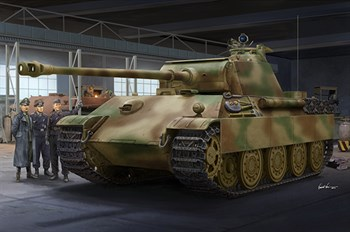 German Sd.Kfz.171 Panther Ausf.G - Late Version  (1:16)
