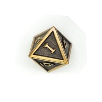 Кубик металлический Clockwork Bronze D8