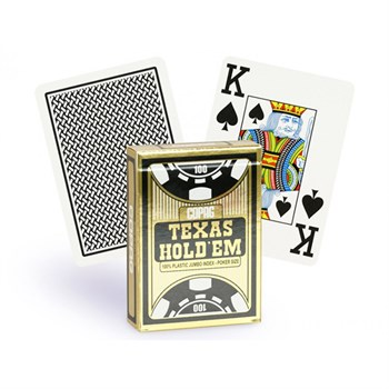 """Texas Holdem new""(двойной индекс,100% пластик)"
