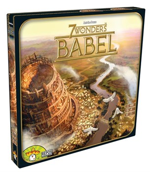 """Настольная игра 7 чудес: Вавилон (Seven Wonders Babel)"""""""