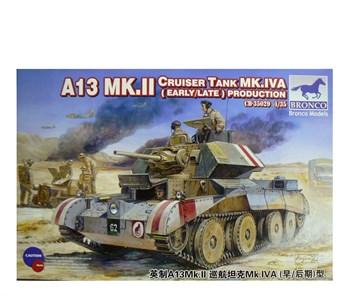 A13 Mk.Ii Cruiser Tank Mk.Iva (Early/Late) Production (1:35)
