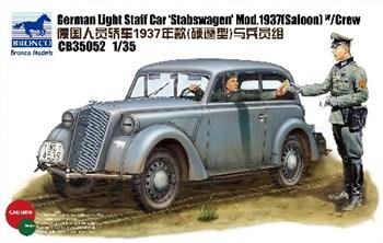 German  Staff Car Bronstabswagenbron Mod.1937 (Saloon) W/Crew  (1:35)