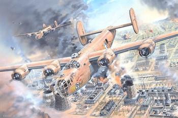 Сборная модель B-24d Liberator  (1:32) Hobby Boss