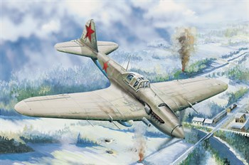 Il-2 Ground Attact Aircraft Hobby Boss  (1:32)