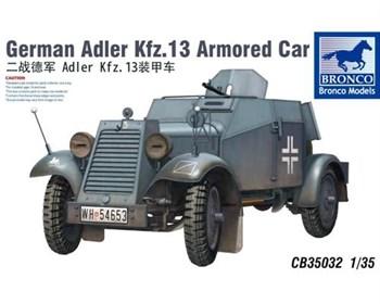 German Adler Kfz.13 Armored Car (1:35)