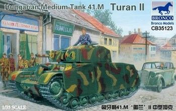 Hungarian Medium Tank 41.M Turan Ii  (1:35)
