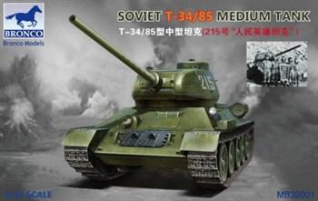 Soviet T-34/85 Medium Tank  (1:32)