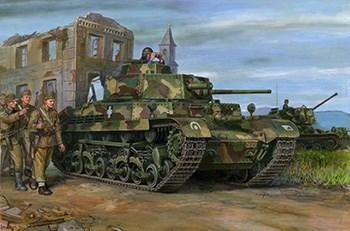 Turan I Hungarian Medium Tank 40.M  (1:35)