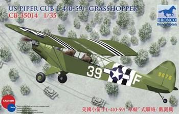 Us Piper Cub L-4(0-59) Grasshopper (1:35)