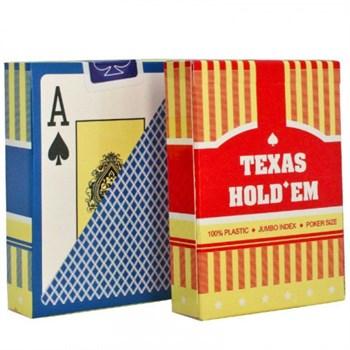 """Карты """"Texas Holdem""""(100% пластик)"""