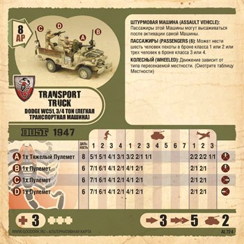 Карточка Transport Truck Ds