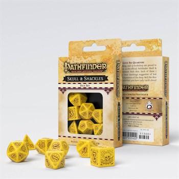 """02QW047/SPAT Набор кубиков """"Pathfinder"""", 7 шт., желто-коричневый"""