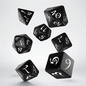 "Набор кубиков ""Классика"", 7шт., Black/White"