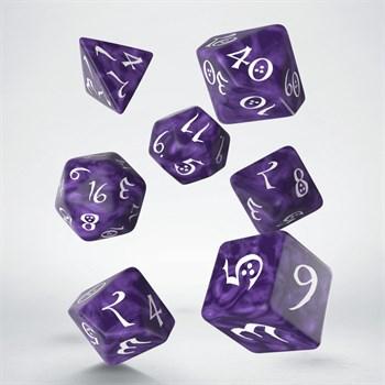 """Набор кубиков """"Классика"""", 7шт., Lavender/White"""