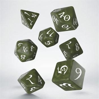 "SCLE Набор кубиков ""Классика"", 7 шт., зелено-белый Эльф"