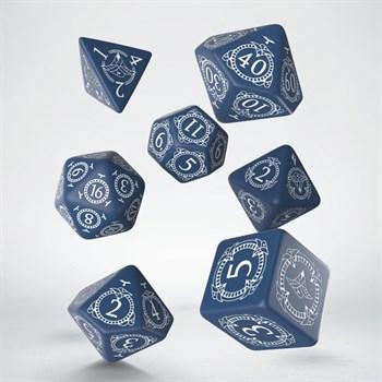 """02QW047/SPAT Набор кубиков """"Pathfinder"""", 7 шт., сине-белый"""