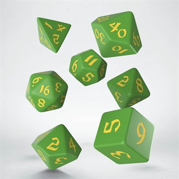 "SCLE Набор кубиков ""Классика"", 7 шт.,  зелен-желт"