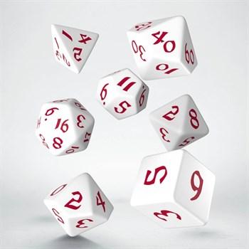 """SCLE Набор кубиков """"Классика"""", 7 шт.бело-красный Рунич"""