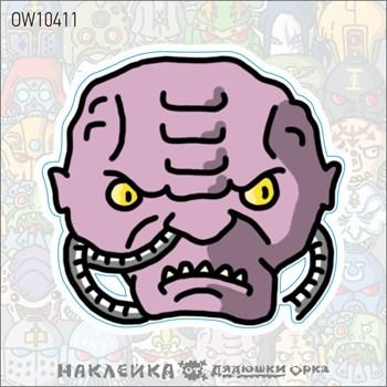 Наклейка Ork's Workshop Генокульт Тиранидов фирменная