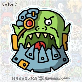 Наклейка Ork's Workshop Космические Орки фирменная