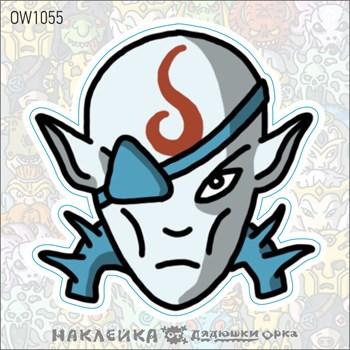 Наклейка Ork's Workshop Идонет Деепкин фирменная