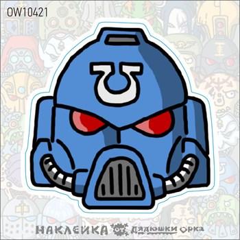 Наклейка Ork's Workshop Ультрамарины фирменная