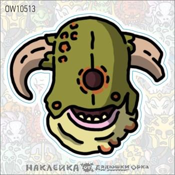 Наклейка Ork's Workshop Демоны Нургла фирменная