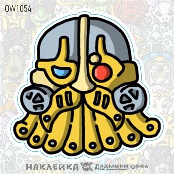 Наклейка Ork's Workshop Харадронские Повелители фирменная
