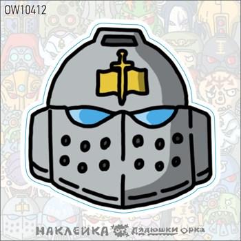 Наклейка Ork's Workshop Серые рыцари фирменная