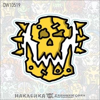 Наклейка Ork's Workshop Альянс Разрушения фирменная