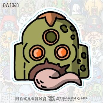 Наклейка Ork's Workshop  Чумные десантники фирменная