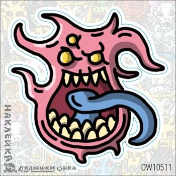 Наклейка Ork's Workshop Демоны Тзинча фирменная
