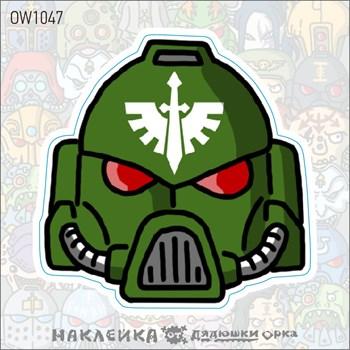 Наклейка Ork's Workshop Тёмные Ангелы фирменная