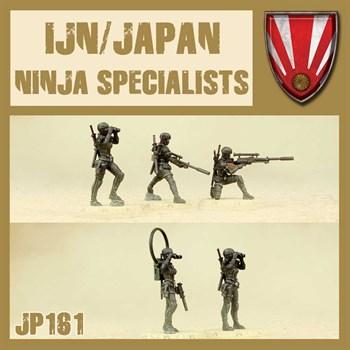 Ninja Specialists (собранная модель)