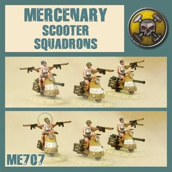 Mercenary Scooter Squadron (собранная модель)