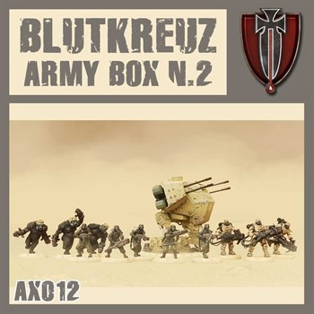Blutkreuz Army Box N.2 (не собран не окрашен)