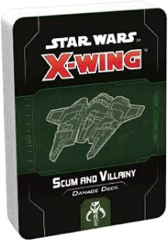 X-Wing 2nd Ed: Scum and Villainy Damage Deck