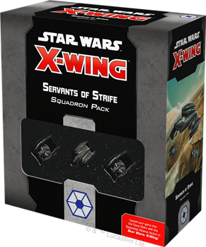 Star Wars X-Wing 2nd Ed: Servants of Strife