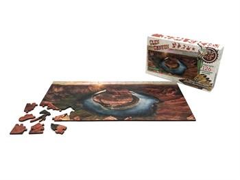 """Фигурный деревянный пазл """"Travel collection"""" Глен Каньон, США"""