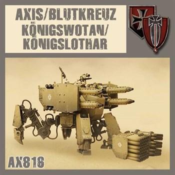 Koenigswotan-Koenigslothar (собранная модель)