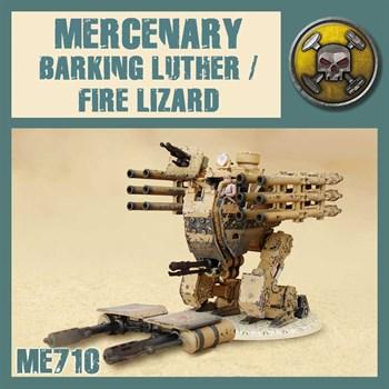 Barking Luther/Fire Lizard (собранная модель)