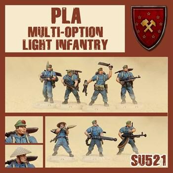 Pla Light Infantry Multioption Box (собранная модель)